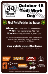 October 18 work party