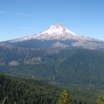view of mt hood from cooks meadow extension trail