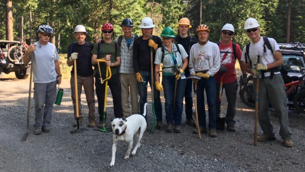 44 Trails Surveyor's Ridge Trail Crew